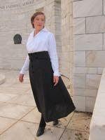 1916 Wearing History skirt & blouse