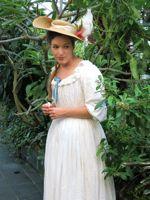 1780s Chemise a la Reine
