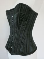 1890s Midnight in the Garden corset thedreamstress.com