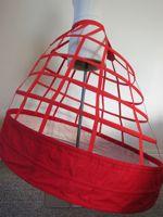 1860s elliptical hoopskirt