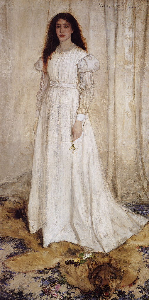 Symphony in White, James McNeill Whistler, 1861–62, National Gallery of Art, Washington, D.C.