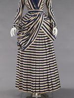 Cotton dress, ca. 1880, Met Museum