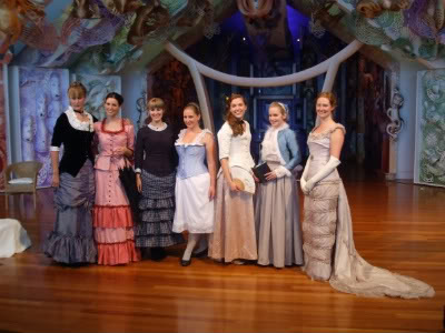 Another assemblage of lovely ladies and historic costumes
