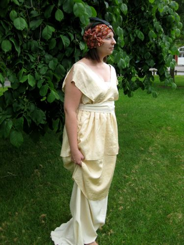 1913 Poiret inspired dress thedreamstress.com