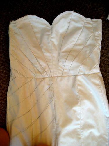 Carolyn's wedding dress progress thedreamstress.com