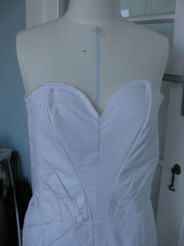 Carolyn's dress progress thedreamstress.com