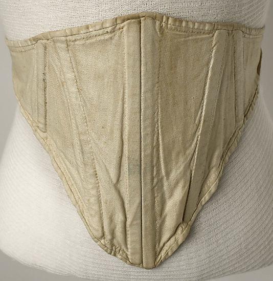 Corset, 1810–50, American or European, Metropolitan Museum of Art, C.I.43.126.36