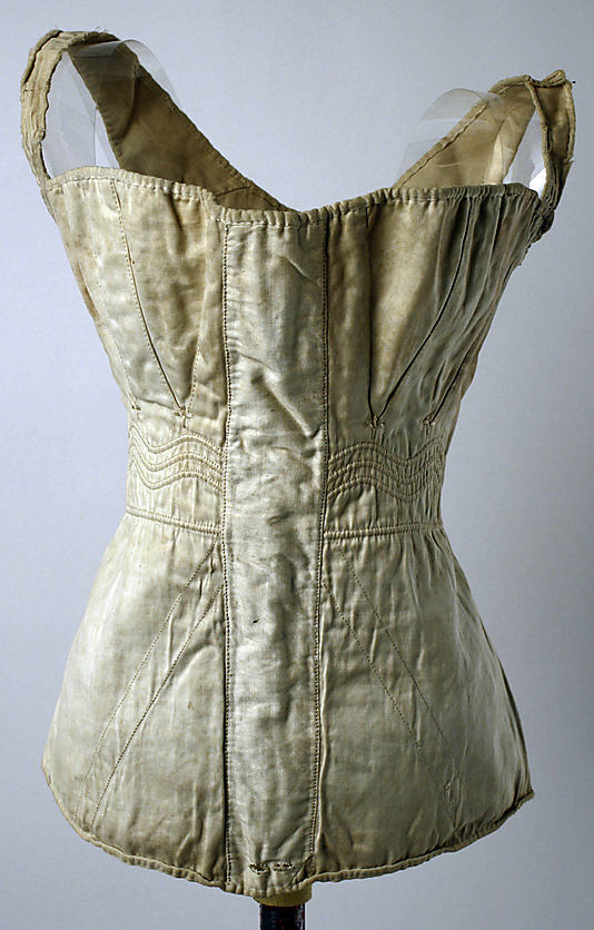 dee2007ea8 A quick guide to corset   stay styles from 1750 to 1850 - The ...