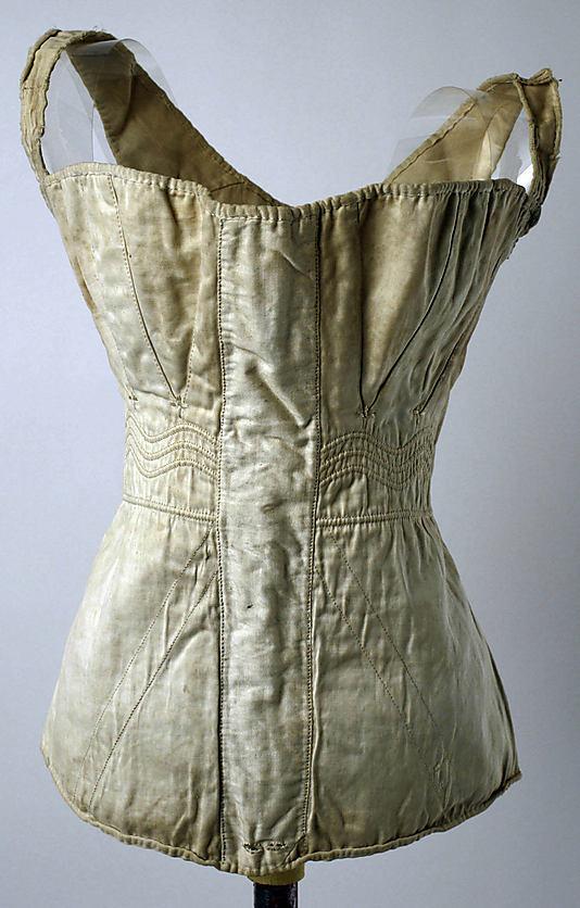 Corset, 1830s–40s, American or European, Metropolitan Museum of Art, C.I.46.82.23