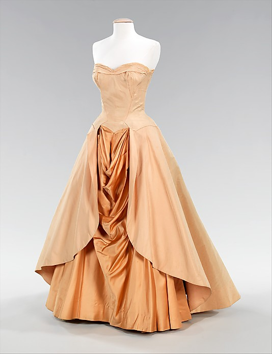 Ball Gown, Charles James, 1948, American, silk, Metropolitan Museum ...
