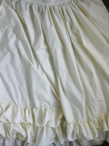 how to make a drawstring petticoat