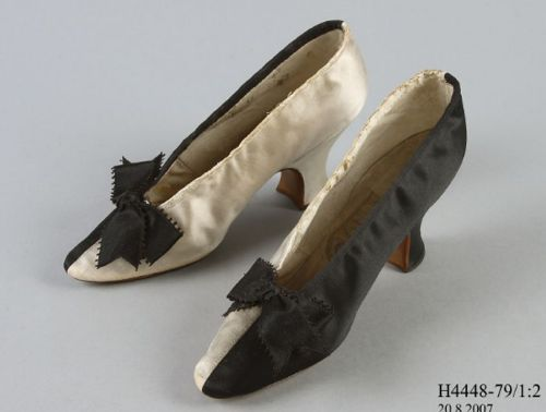 Slip on court shoes by John Thomas for Henry Marshall, 1883 - 1885, Powerhouse Museum, Australia