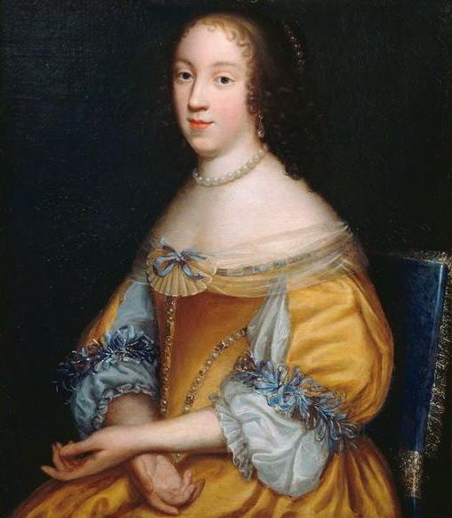 Élisabeth (Isabelle) d'Orléans, Duchess of Guise by Beaubrun, 1670