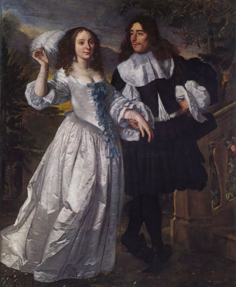 Portrait of a couple, 1661, Bartholomeus van der Helst