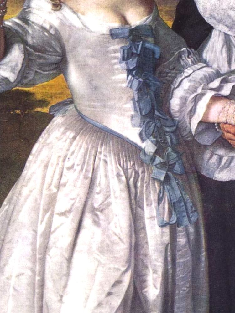 Walking couple (detail), 1660-61, Bartholomeus van der Helst