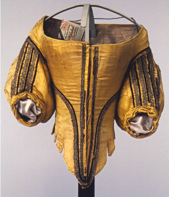 German bodice, 1660s