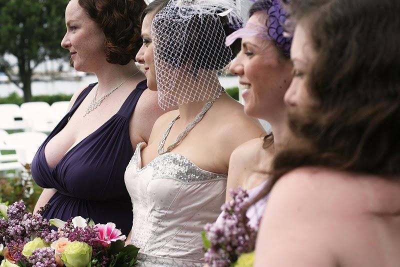 Carolyn's wedding dress thedreamstress.com