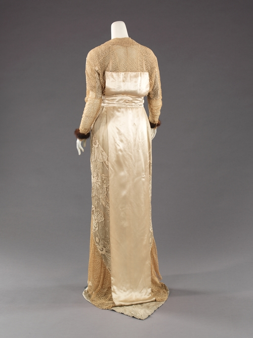 Rate the dress: Lace and fur in 1910 - The Dreamstress