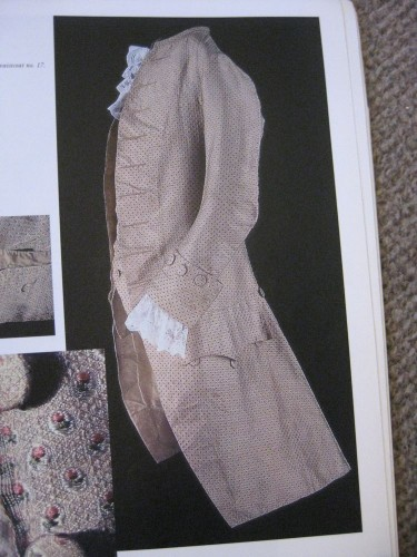 Making An 18th Century Man S Jacket Pattern And Interfacing The