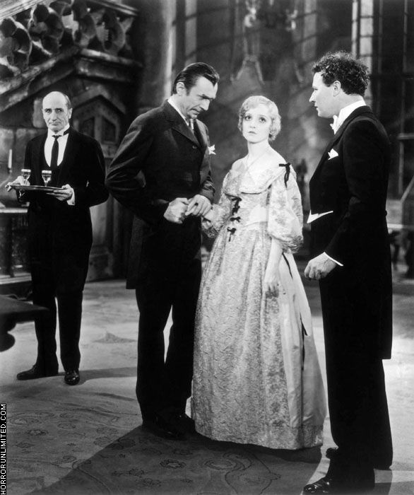Madge Bellamy in 'White Zombie', inexplicably wearing a costume from Lorna Doon