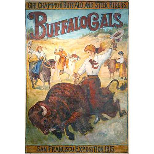 No Buffalo Gals at the Buffalo meeting