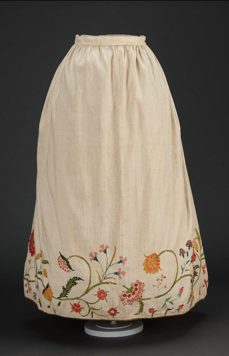 Petticoat American (New England), mid-18th century, MFA ...