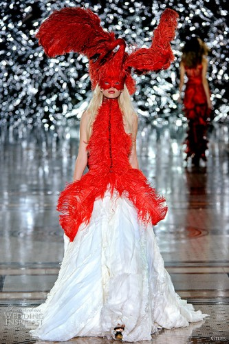 If elizabeth hawes designed a 21st century wedding dress for Giles deacon wedding dresses
