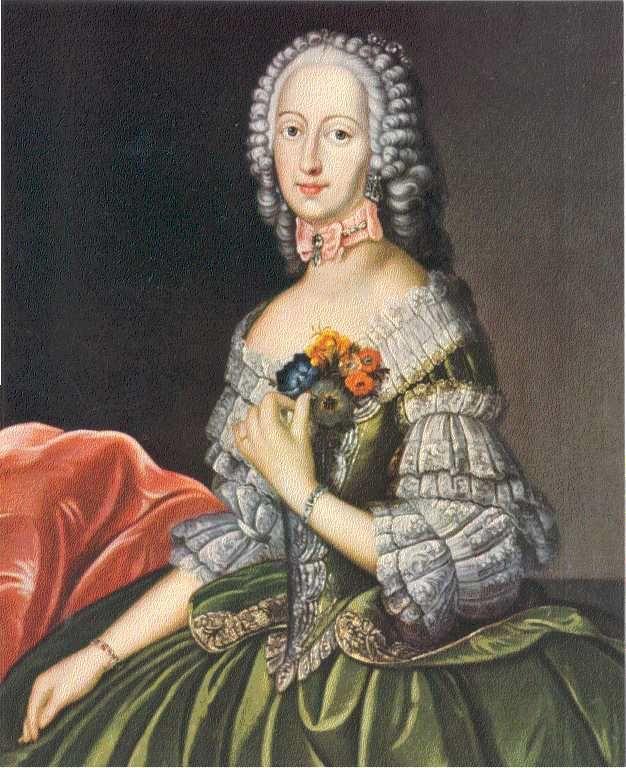Princess Philippina Charlotte, 1716