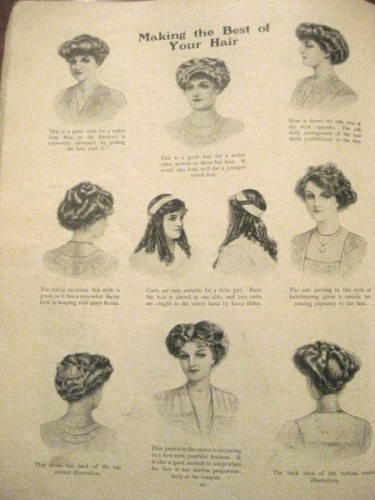Tremendous Making The Best Of Your Hair In 1911 The Dreamstress Short Hairstyles For Black Women Fulllsitofus