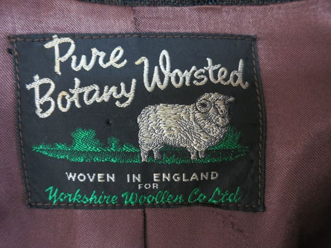 1960s jacket of botany worsted wool thedreamstress.com