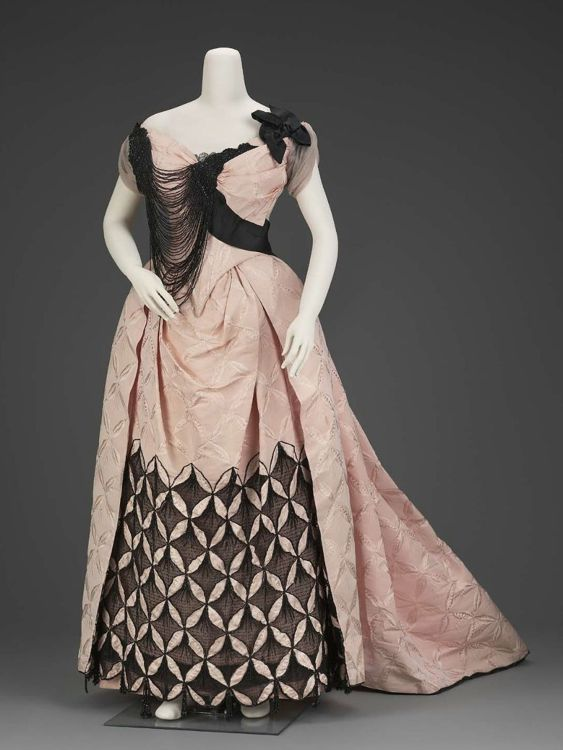Evening dress, French, About 1893, Charles Frederick Worth, MFA ...