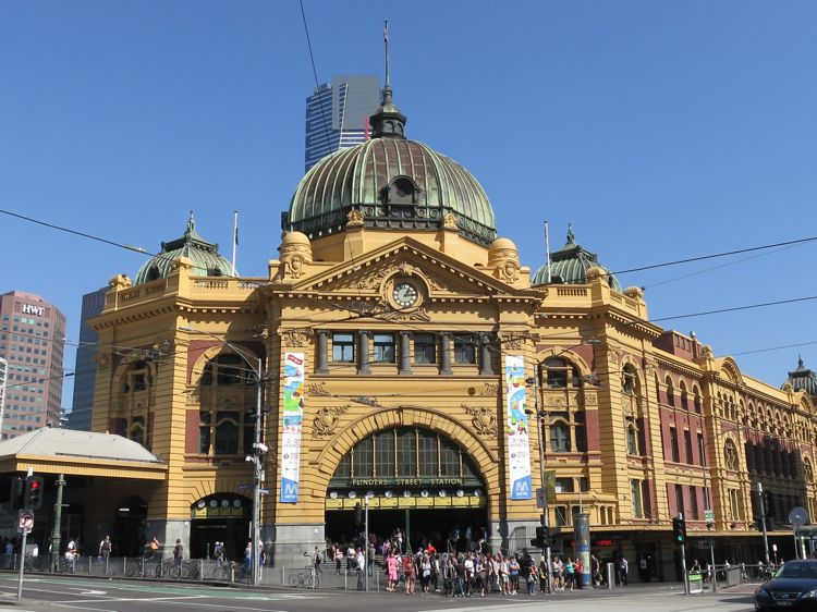 The fabulous Flinders St Station