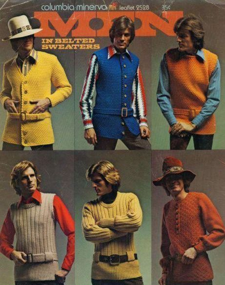 1970s knitting pattern