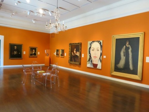 The portrait gallery at the Honolulu Museum of Art