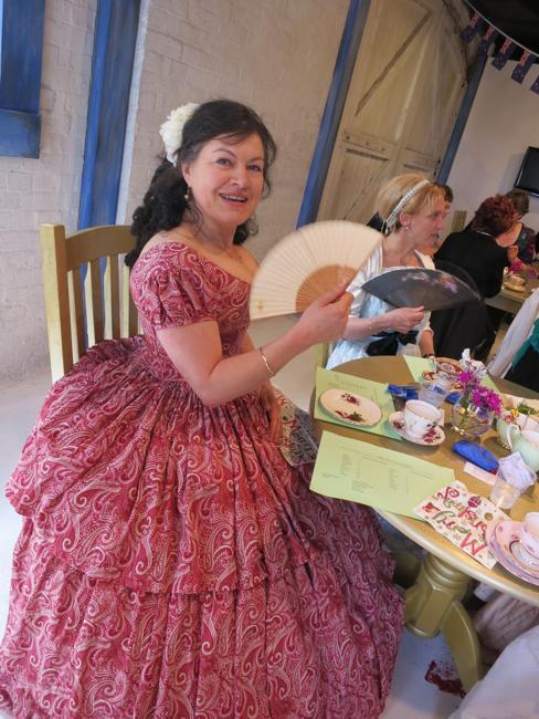 Madame O in the Raspberry Swirl