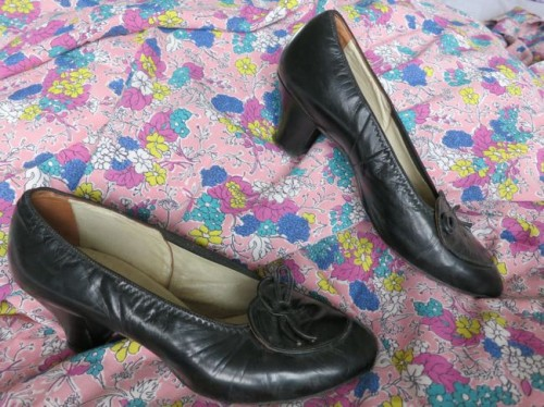 late 1930s heels - Made in New Zealand
