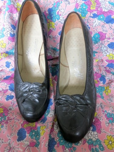 late 1930s shoes, Made in New Zealand
