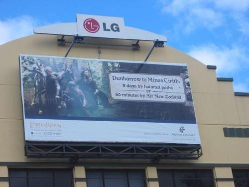 Air New Zealand advertising