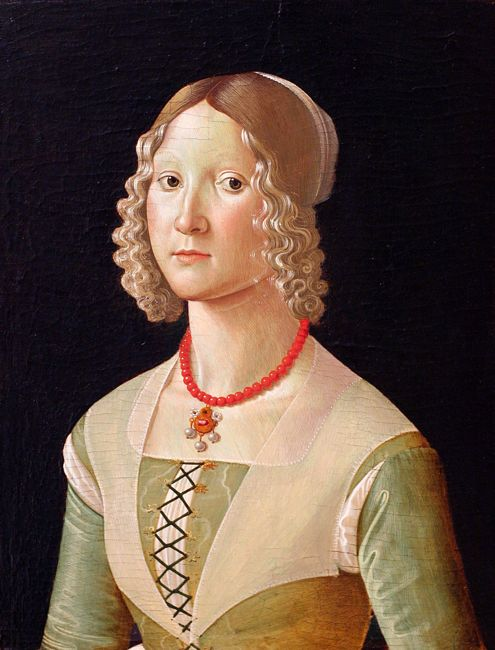 Portrait of a Woman, Domenico Ghirlandaio, probably 1480s