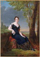 1811 Salomé Louise Coulmann, comtesse Walther by Robert Lefevre (Versailles)