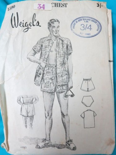 Weigels 1590 - beach shorts, shirt and bathers