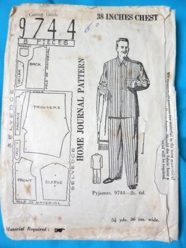 Home Journal 9744 - mens pyjamas