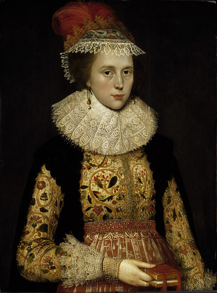 Margaret Layton, ca. 1620, Gheeraerts, Marcus (the younger) V&A