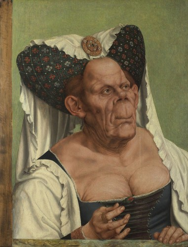 Quinten Massys (South Netherlandish, 1466-1530). An Old Woman (The Ugly Duchess), ca. 1513, National Portrait Gallery, London