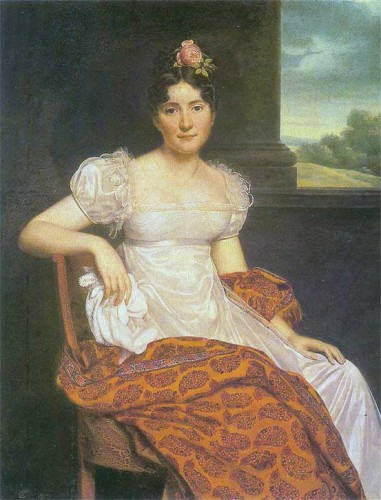 Reisner, Portrait of Joséphina Fridrix (1813)