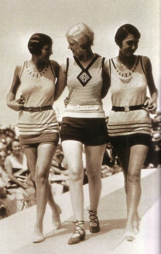 Swimsuits, 1928