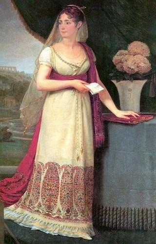 Empress Joséphine by Baron Antoine-Jean Gros, ca. 1808, Musée d'Art et d'Histoire at Palais Massena, Nice France