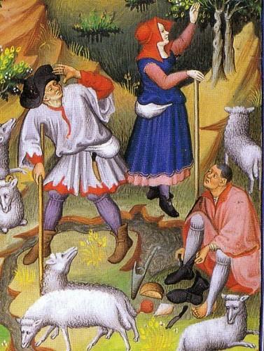 Shepherds, 1430s