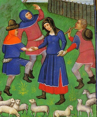 Shepherds, 1450s, Belgium