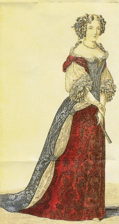 French fashions, 1680s